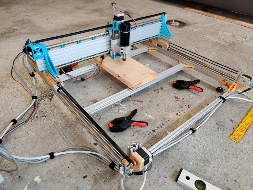 Image of the CNC router.